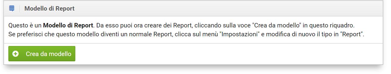 Aggiungere un report come modello nel Toolbox SISTRIX