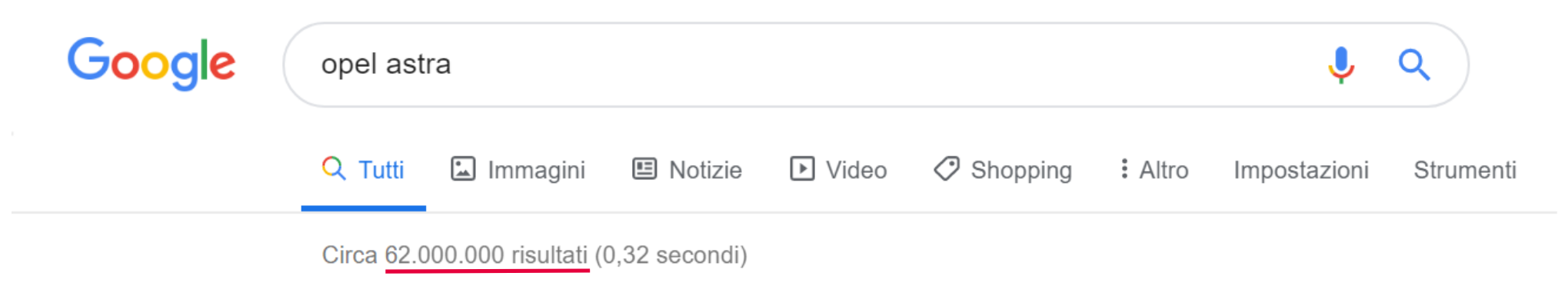 Ricerca su Google senza virgolette