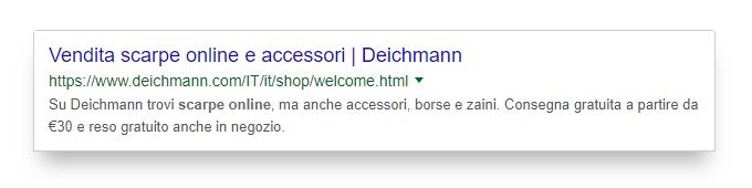 Title ottimizzato di Deichmann