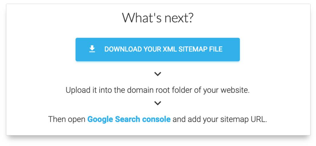 Download sitemap