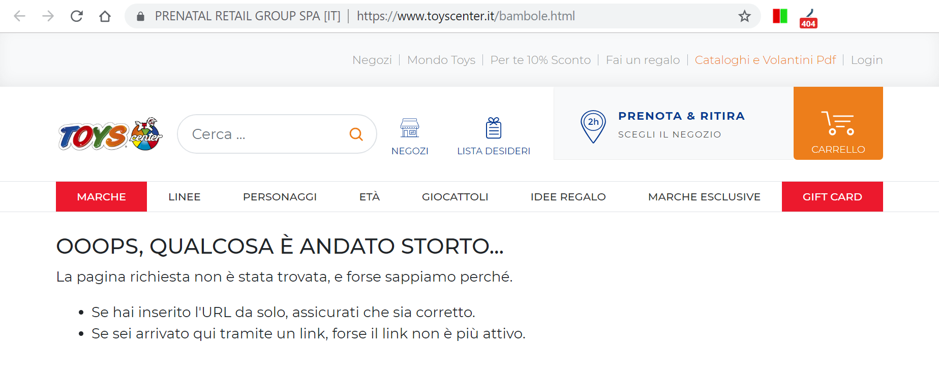 toyscenter.it vecchio url