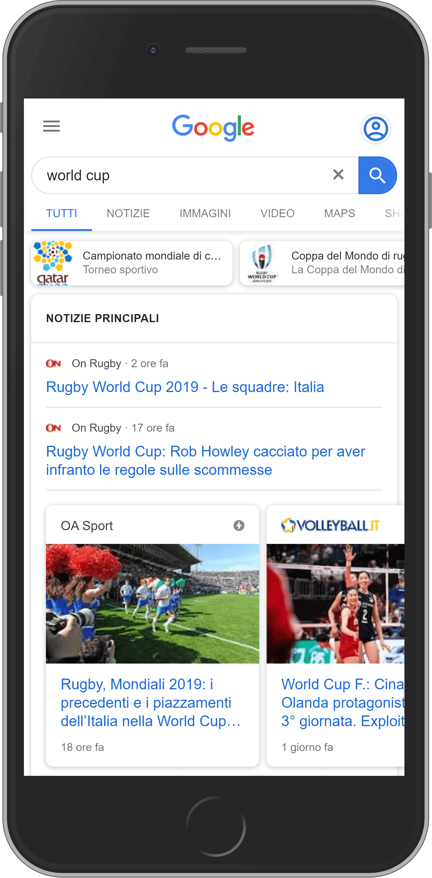 "serp mobile per ""world cup"""