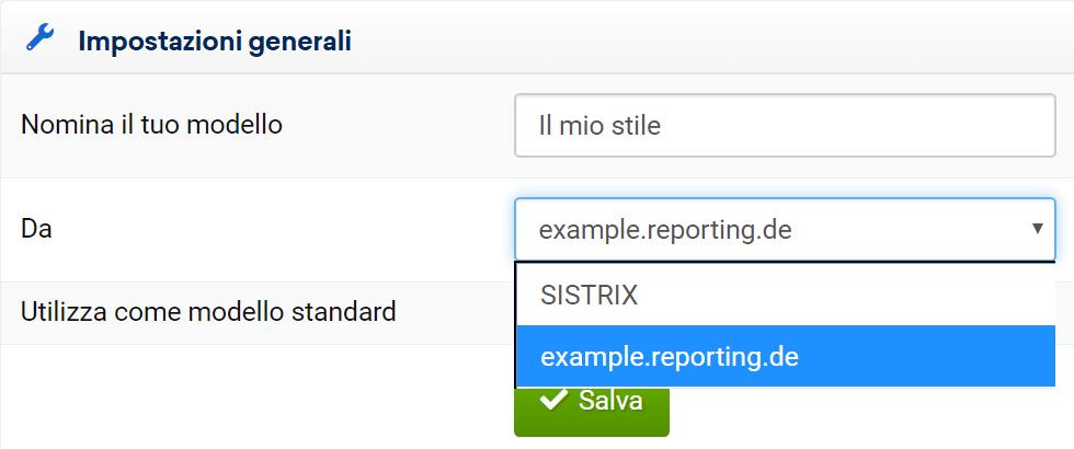 Modifica impostazione per mail di un Report nel Toolbox SISTRIX