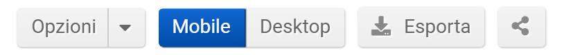 """Toolbox SISTRIX: opzioni della sezione """"Cambiamenti di URL"""""""