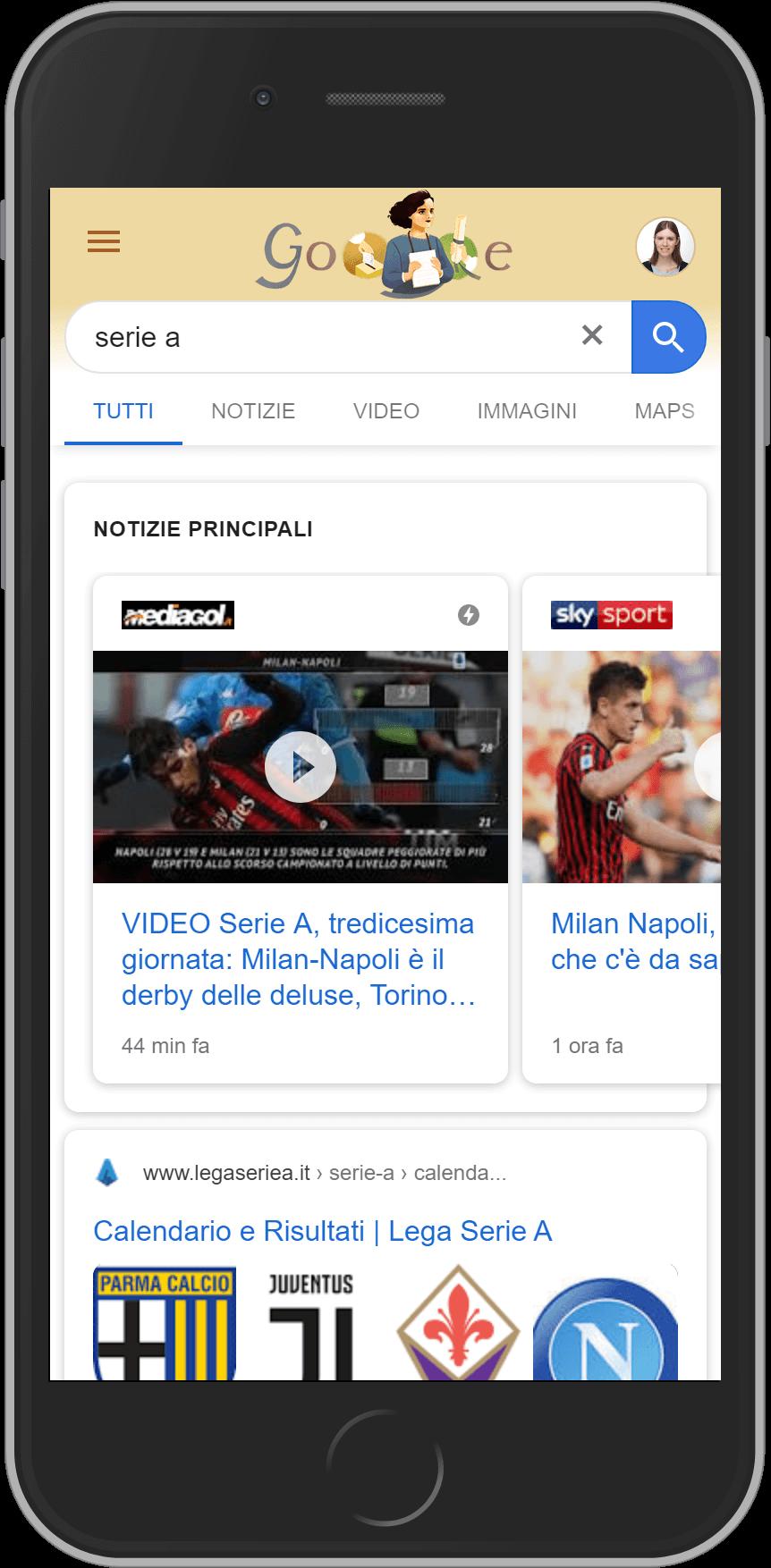 Google news su Smartphone