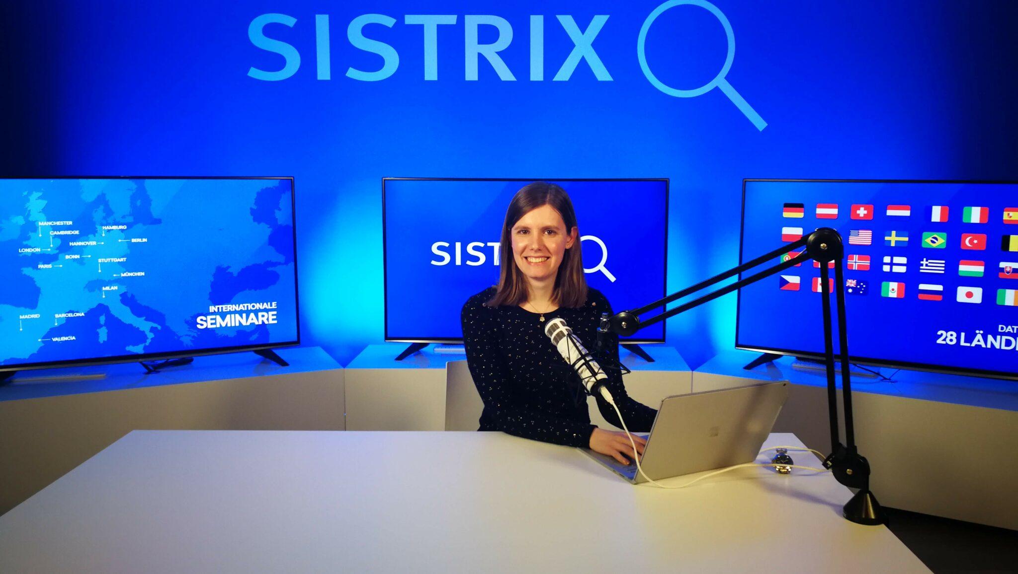 Lo studio di SISTRIX per i webinar online