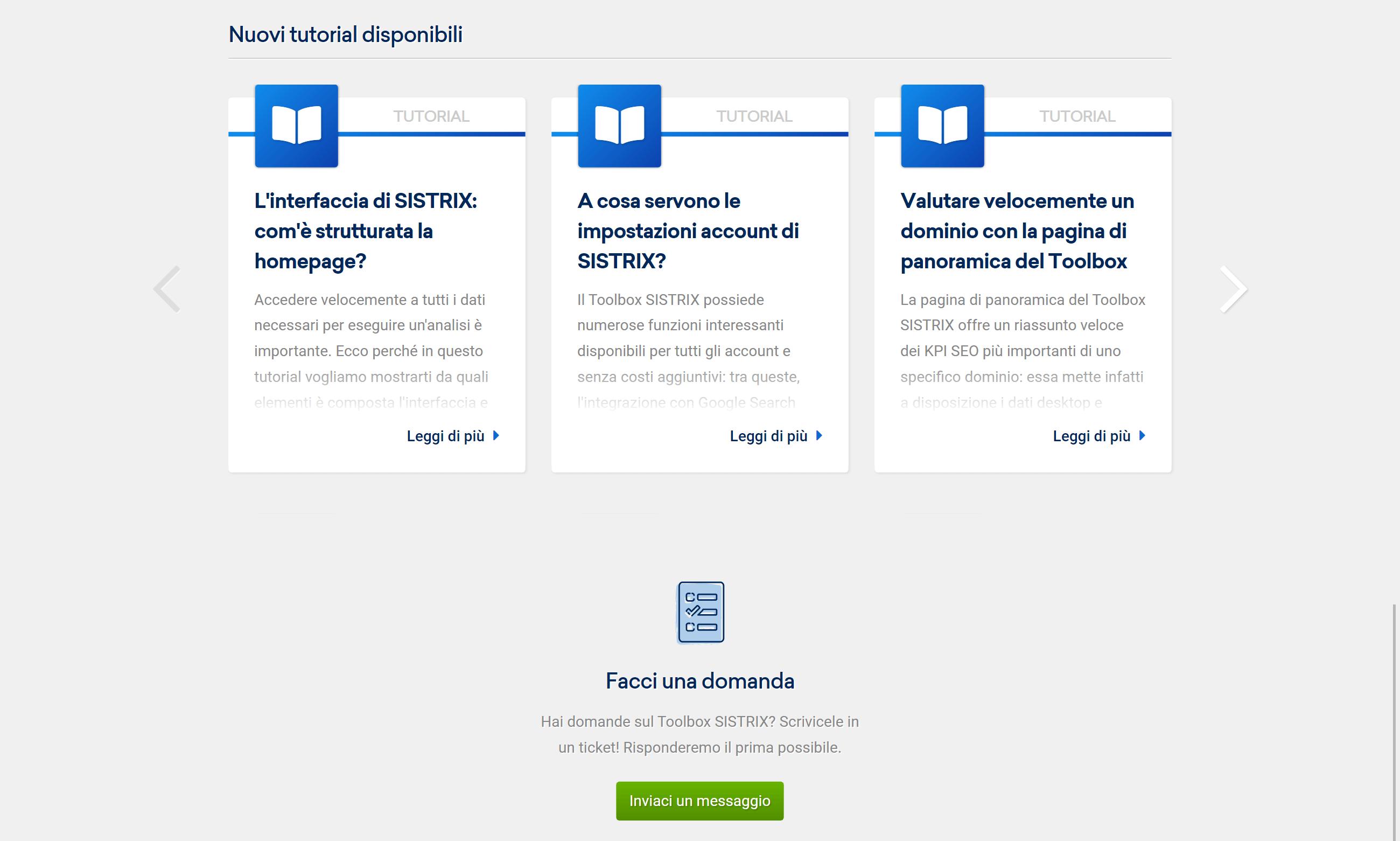 Come aggiungere delle keyword manualmente ad una lista nel Toolbox SISTRIX